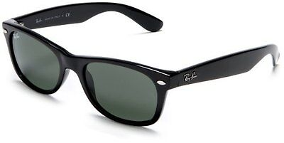 Ray-Ban RB2132 New Wayfarer Sunglasses Black on Rummage