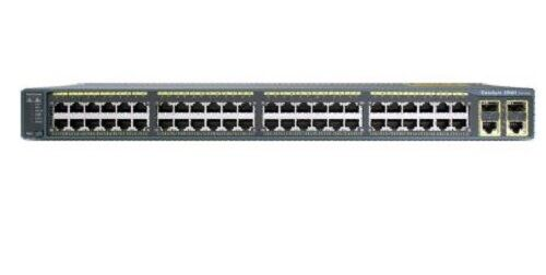 Cisco 48 Port Ethernet 10/100/1000 Ports Catalyst Switch Ws-c3560g-48ts-s
