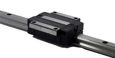 20mm 60 Rail Guideway System Square Slide Unit Linear Motion