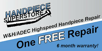One Free Whadec Highspeed Dental Handpiece Repair