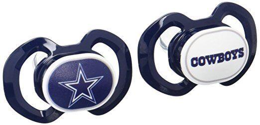 NFL Dallas Cowboys Baby Fanatic 2-Piece Pacifier Set
