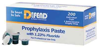 200pcs. Dental Prophy Paste W 1.23 Fluoride. Mint Coarse.