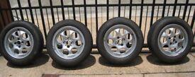 "MINI Genuine 15"" Inch Light Alloy Wheels 7-Hole R81 Silver 36111512458"