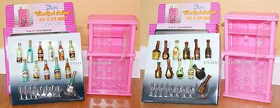 NEW Gloria DOLLHOUSE FURNITURE Wine Rack A+B PLAYSET (96012)