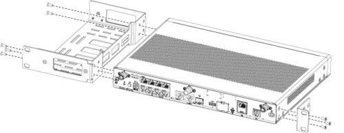 Cisco Compatible / 1RU Rack mount for Cisco 1000 ISR Router / ACS-1100-RM-19
