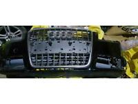 Audi a4 b7 s line front bumper with center grille