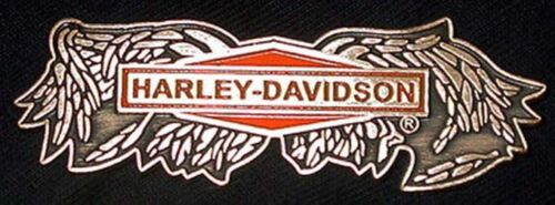 HARLEY DAVIDSON RARE BROKEN WING PIN HARLEY PIN (PN15)