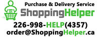 ShoppingHelper.ca  || Purchase & Delivery Service