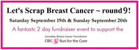 Let's Scrap Breast Cancer- Scrap booking fundraiser!