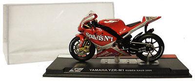 Ixo/altaya Alt26 Yamaha Yzr M1 Motogp 2005 - Ruben Xaus 1/24 Scale