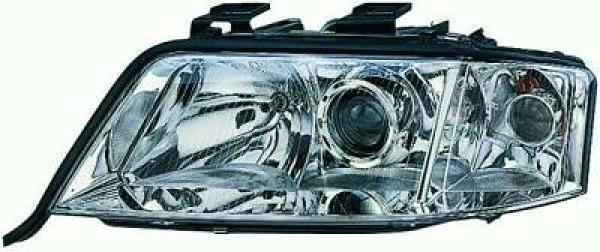 Scheinwerfer Scheinwerfer links vorne AUDI A6 01-04 H7/H7 TYC für reg elektrisch