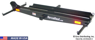 Versa-Haul Single Motorcycle Carrier with Ramp Option VH-55 RO