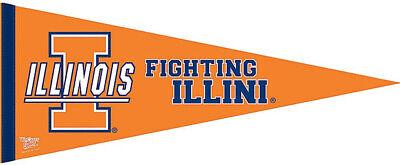 Illinois Fighting Illini Felt Pennant Illinois Fighting Illini Pennant