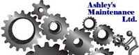 Ashleys Maintenance- Welding and Fabrication Services