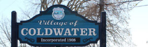 One Bedroom Apt for rent Downtown Coldwater (Not Orillia)