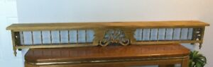Bass Wood Decorative Shelves  (2)
