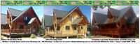 Log Home + Specialized Restorations with Mobile Media Blasting