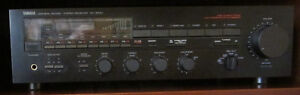 YAMAHA STEREO SYSTEM- RECEIVER CASSETTE DECKCD PLAYER TURN TABLE Windsor Region Ontario image 1