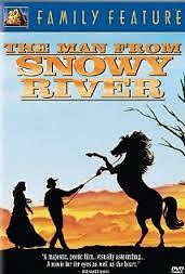 VHS The man from snowy river