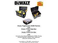 Brand New Dewalt DS300 ( Empty)