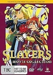 Slayers Movie Collection (DVD, 2006, 3-Disc Set)
