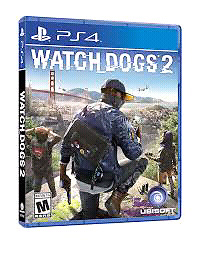 Watch Dogs 2 Brand New Sealed for Ps4.