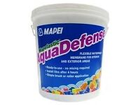 Mapei AquaDefense 7.5kg - bought for a job but never used. Aqua defence defense