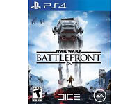 Star Wars Battlefront game for PS4