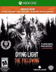 Dying light the following edition sealed xbox one