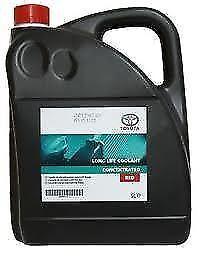 Car Parts - Genuine Toyota Red Coolant Antifreeze 5 L Concentrate