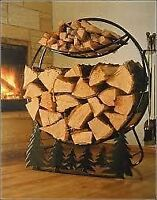 Bush Cord Firewood Sale Delivery Included Free Hoop Rack