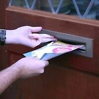 FLYER DELIVERY CASH JOB - THIS WEEKEND