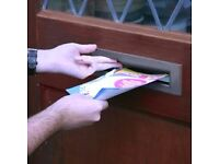 Self employed reliable leaflet distributors avaliable