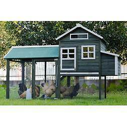 Brand New Extra Large Green/White Chicken Coop with Nest Box Largs Bay Port Adelaide Area Preview