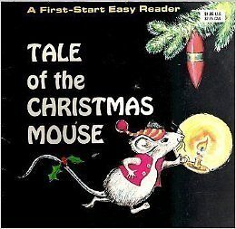 Tale of the Christmas Mouse vintage children's book 1970