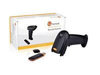 TaoTronics TT-BS012 Wireless Cordless Handheld Barcode Bar Code Scanner Reader Kit - Black