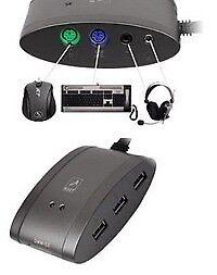 A4Tech Hub Master MS-9 (3 Port USB Hub + Card Reader)