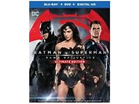 Batman v Superman and Secret life of pets DVDS