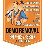 The Dumpman - Junk Removal + Demolition 647-627-3867
