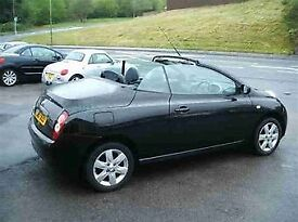 BEAUTIFUL BLACK 2007 NISSAN MICRA CONVERTIBLE FOR SALE