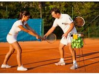 Private tennis coach - London