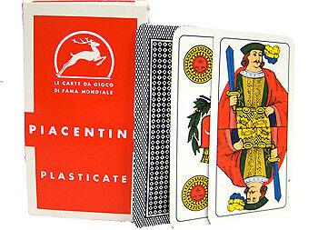 Deck Of Piacentine Italian Regional Playing Cards Mod-4008