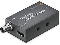 black magic ultrastudio mini recorder