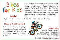 United Way of Pictou County: Bikes for Kids