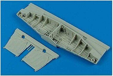Aires 1/32 P-51D Mustang Wheel Bay for Trumpeter kit 2092
