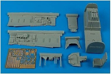 Aires 1/32 P-51D Mustang Cockpit Set for Trumpeter kit 2091