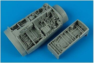 Aires 1/48 F-16C Falcon Wheel Bays for Tamiya kit 4370