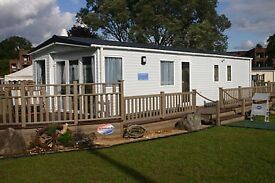 Static caravan LODGE for sale on WALKERS HOLIDAY PARK millisle TOURERS and STATICS taken in PART EX,