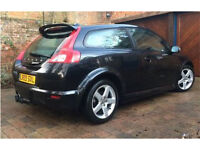Volvo C30 R Design 1.6D,60+mpg, 81k,FSH,Car phone,Cruise& climate control,Heated seats,New DPF&MOT