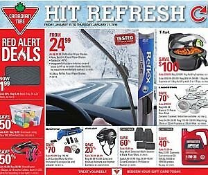 "*NEW* 2pks REFLEX ICE 22"" windshield Wiper Blades (reg $30)"